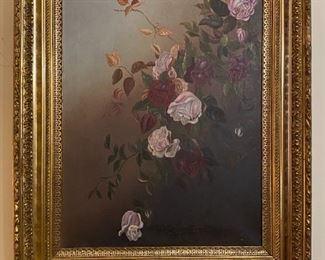 Oil on Canvas - 27x33