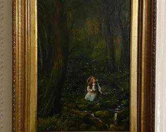 Oil on Canvas - 29x38.5 - John Rhodes 1951