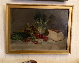 Oil on Canvas - 25x19.5