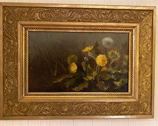 Oil on Tin - 19x14