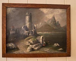 Oil on Canvas - 27x21
