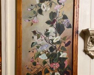 Oil on Canvas #1 - 20.5x38.5 - BA '92