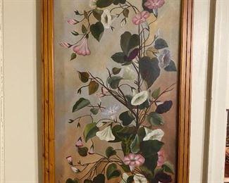 Oil on Canvas #2 - 20.5x38.5 - BA '92