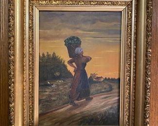 Oil on Canvas - 18x22