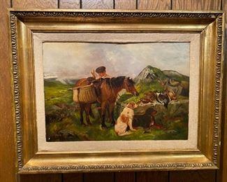 Oil on Canvas - 34.5x26.5 - J.J. Grier