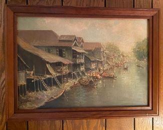 Oil on Canvas - 30x22 - Basar