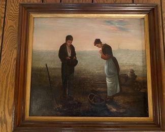 Oil on Canvas - 28x25