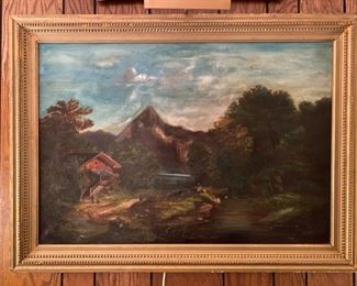 Oil on Canvas - 41x30