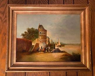 Oil on Canvas - 24x30