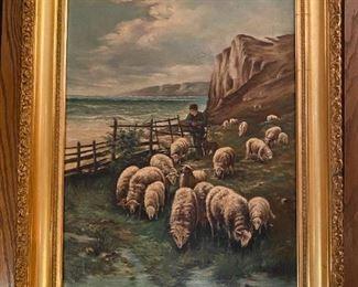Oil on Canvas - 22.5x29.5 - G.H. Merken