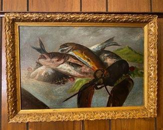 Oil on Canvas - 21x15
