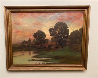 Oil on Canvas - 28.5x22