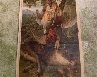 Oil on Canvas - 19x30 - G O'alette