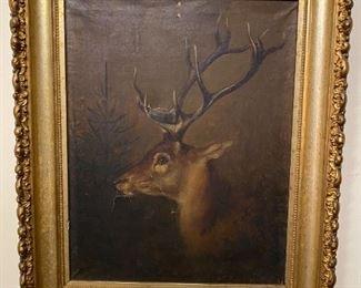 Oil on Canvas - 12x13
