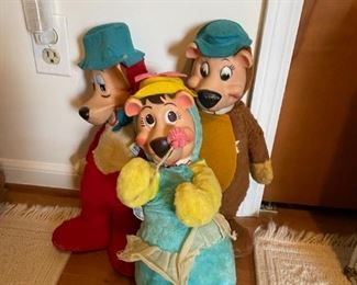 Vintage Huckleberry Hound Toys