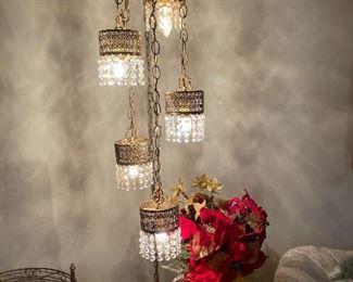 California regency hanging lamp