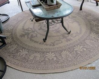 ANOTHER ROUND VERY NICE RUG