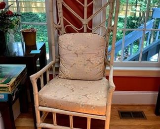 high back rattan chairs