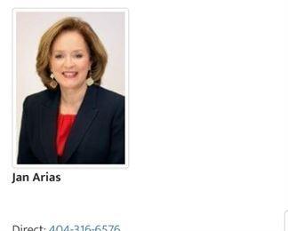 Jan Arias, GA