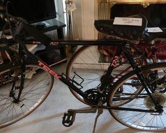 Trek  men's  bikes   75.00  and  55.00   75.00  bike  is  sold