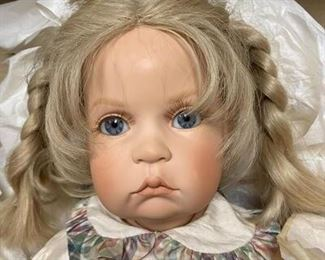 Piccolina Limited Edition Doll in Box with COA Waltershauser Puppenmanufaktur