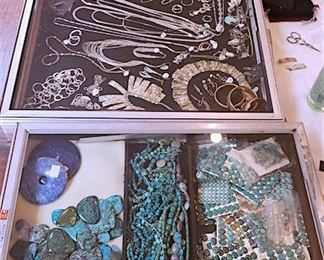 Jewelry beads, jewelry parts