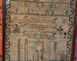 Wonderful tapestry - stain is on tapestry