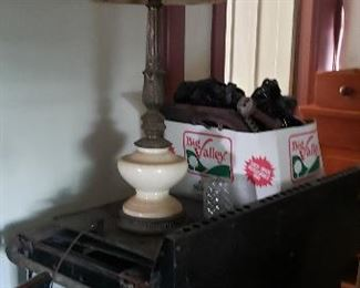 back of stove