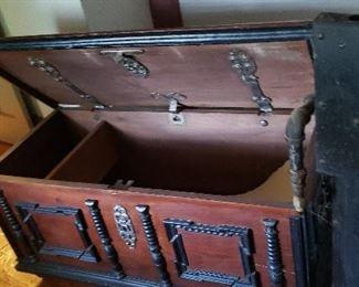 Ornate trunk
