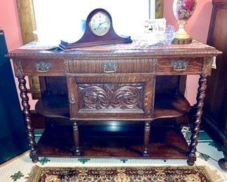 Fancy antique buffet, credenza