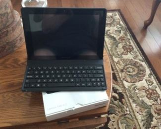 Lenovo Tab A tablet computer with original boxes