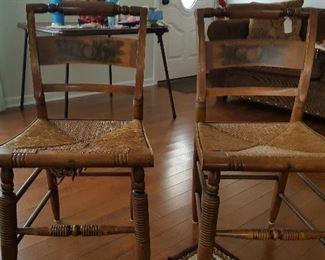 2 Hitchcock Chairs