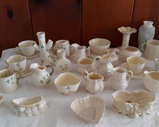 Belleek glassware