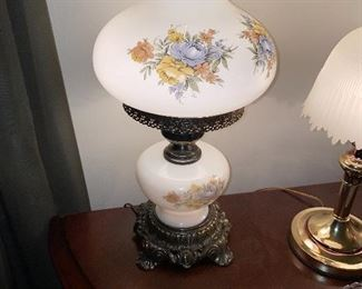 Pair of Gone With the Wind Lamps