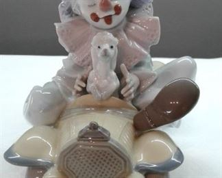 Privilege Society 2008 signed Lladro  01008136 Trip to the Circus with box. $350.00