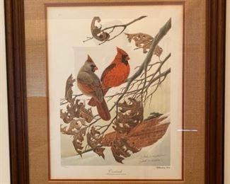 002 John A Ruthven Cardinals Print