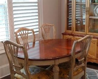 Drexel French Country table and chairs
