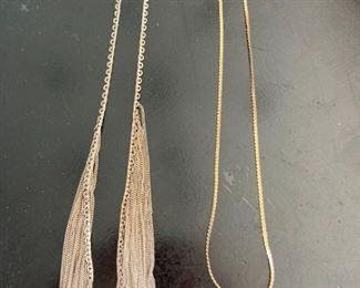 925 necklace 12kgf necklace