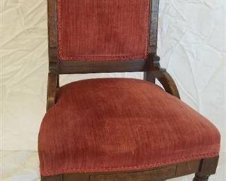 Eastlake Parlor Chair