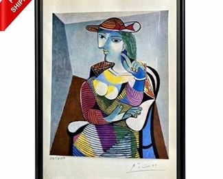 Lithograph PABLO PICASSO.  Artist Proof!
