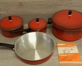 SUPER RARE NEW Regal Ware Waterless Stainless Cookware Set