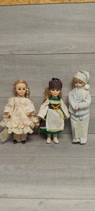 2 Effanbee Dolls 1 Crowne Doll