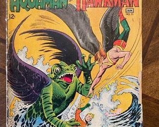 Aquaman and Hawkman Comic