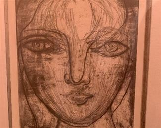 Picasso's Young Girlfriend