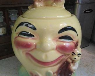 1930s Robinson Rainsbottom Cookie Jar