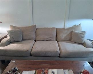 Micro seude sofa