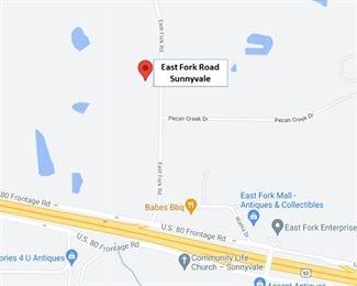 E Fork Rd Map