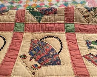 Vintage, Handmade Quilts