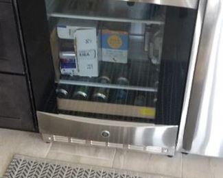 GE wine refrigerator