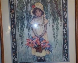 One of the many counted cross stitch pictures.